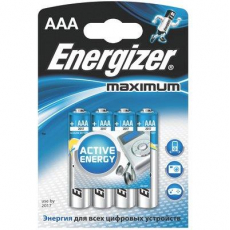 Батарейка Energizer Maximum LR03 AAA FSB4 1шт